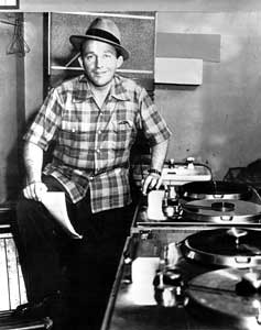 Bing Crosby with Ampex Model 200A