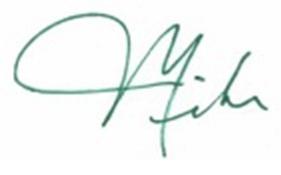 MAK green Signature