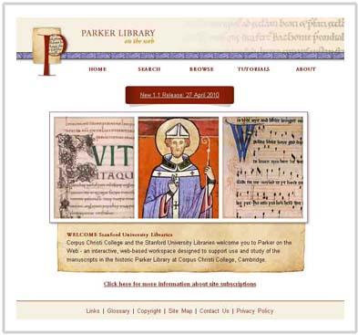 Parker website