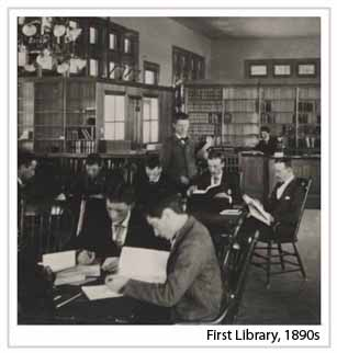 First Library 1890s