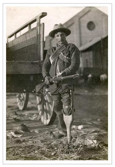 Pegleg Soldier