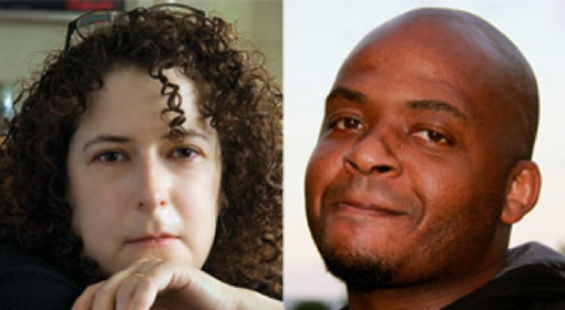 Margalit Fox, left, photo credit: Ivan Farkas; Kiese Laymon, right, photo credit: Emma Redden