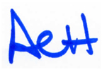ACH signature